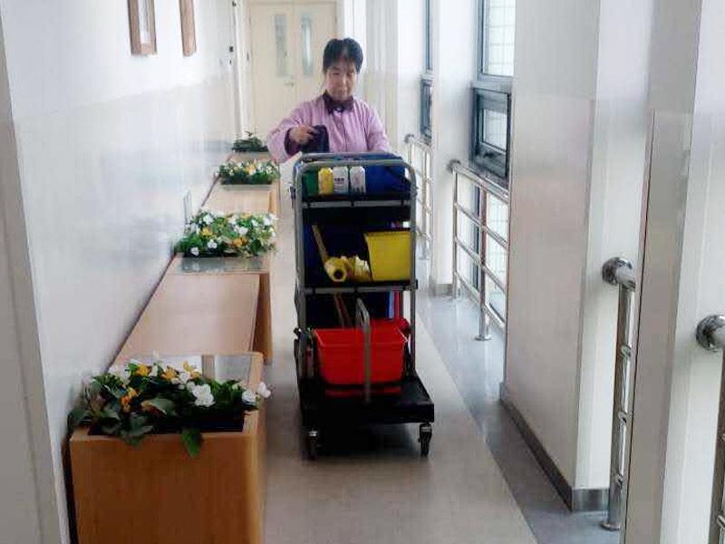 医院收垃圾